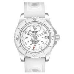 Breitling Superocean II 36 Hurricane White Dial Ladies Watch A17312