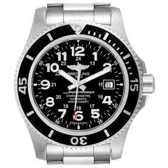 Breitling Superocean II 44 Black Dial Steel Men's Watch A17392