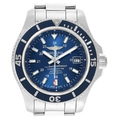 Breitling Superocean II Blue Dial Steel Men's Watch A17365
