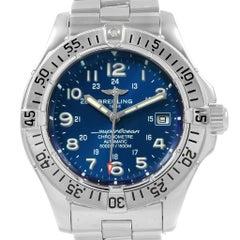 Breitling Superocean Steelfish Blue Dial Men's Watch A17360