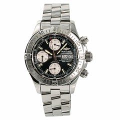 Breitling Superocean2961, Silver Dial Certified Authentic