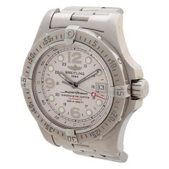 Breitling Superocena Steelfish Ref A17390, Complete Set, Outstanding Condition