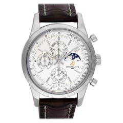 Breitling Transocean A19310, White Dial, Certified and Warranty