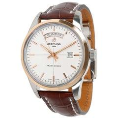 Breitling Transocean Day & Date LE U453101T/G752 Men's Watch in 18kt Gold/Steel