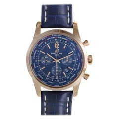 Breitling Transocean RB0510, Millimeters Brown Dial, Certified and Warranty