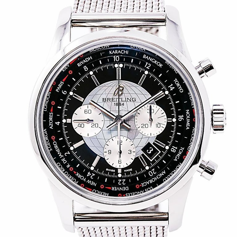 Women's Breitling Transocean 6234, Silver Dial Certified Authentic For Sale