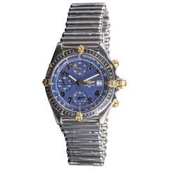 Breitling Wristwatch with Stainless Steel Band, Model B13050.1