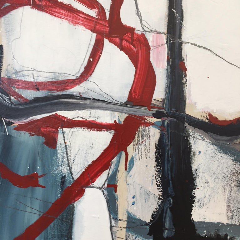Old Age, Sickness And Death - Abstract Painting, 21st Century, Acrylic paint. For Sale 2