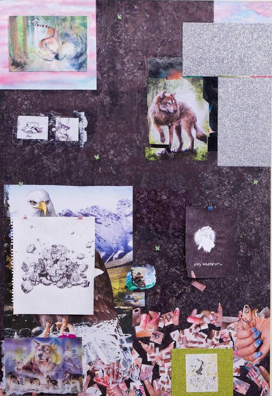 The Disciple - Contemporary Mixed Media Art by Brendan Lynch