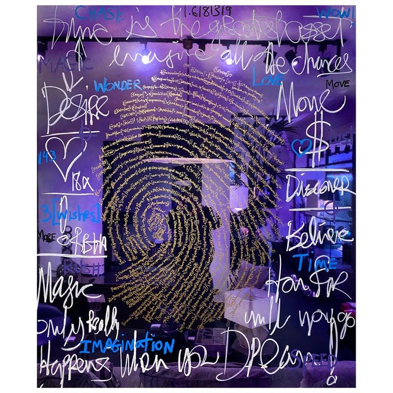 Brendan Murphy Elements 2020 Fingerprint Series Contemporary Art Painting For Sale