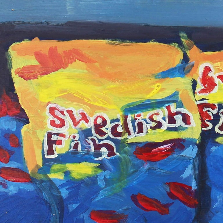 Swedish Fish - Painting by Brendan O'Connell