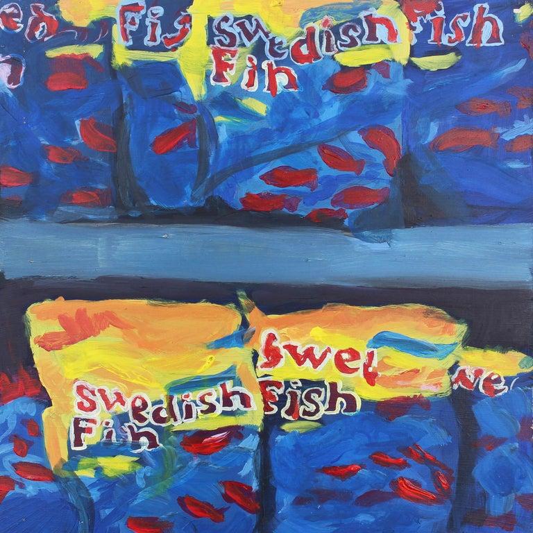 Brendan O'Connell Still-Life Painting - Swedish Fish