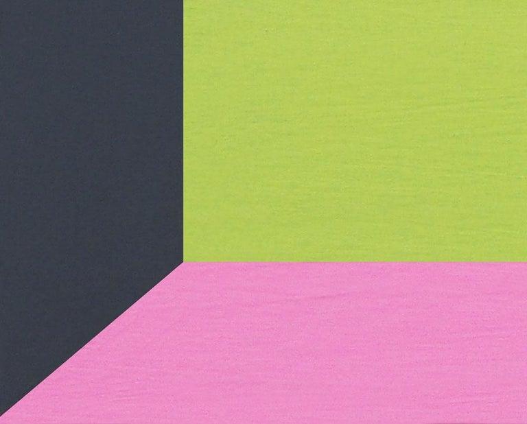 GPB Slurp - Abstract Geometric Painting by Brent Hallard