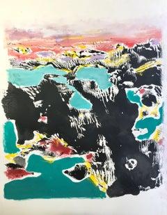Lakeland, Painting, Acrylic on Paper