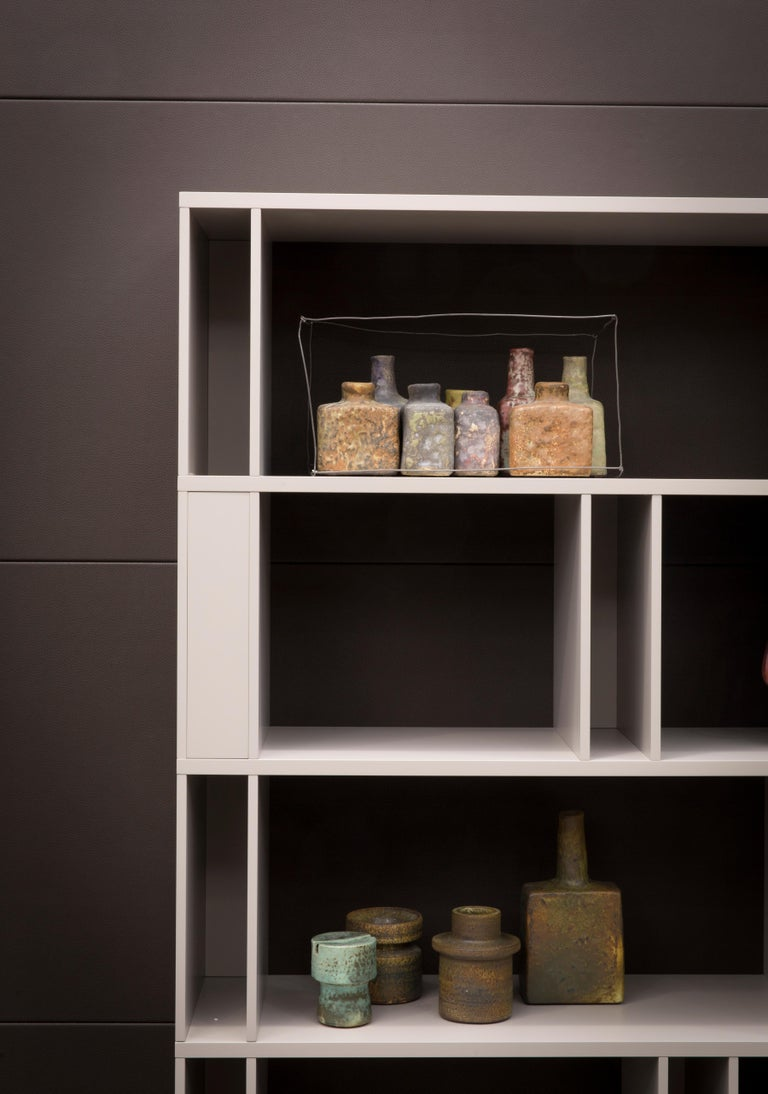 Modern Brera Bookcase Library, Designed by Lievore Altherr Molina, Made in Italy For Sale
