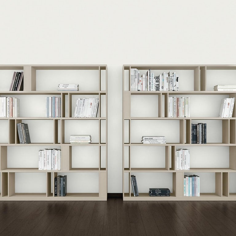 Italian Brera Bookcase Library, Designed by Lievore Altherr Molina, Made in Italy For Sale