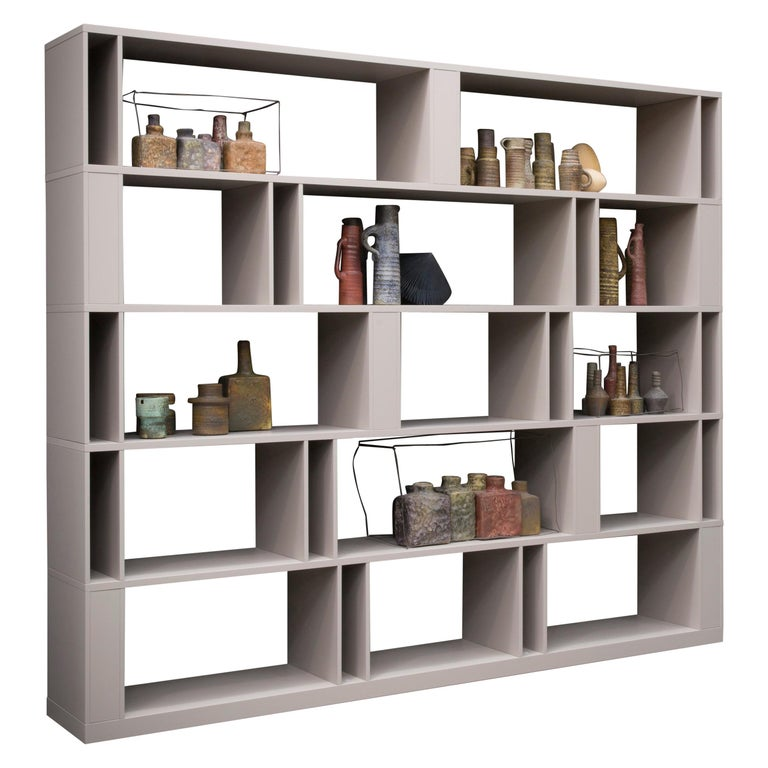 Brera Bookcase Library, Designed by Lievore Altherr Molina, Made in Italy For Sale