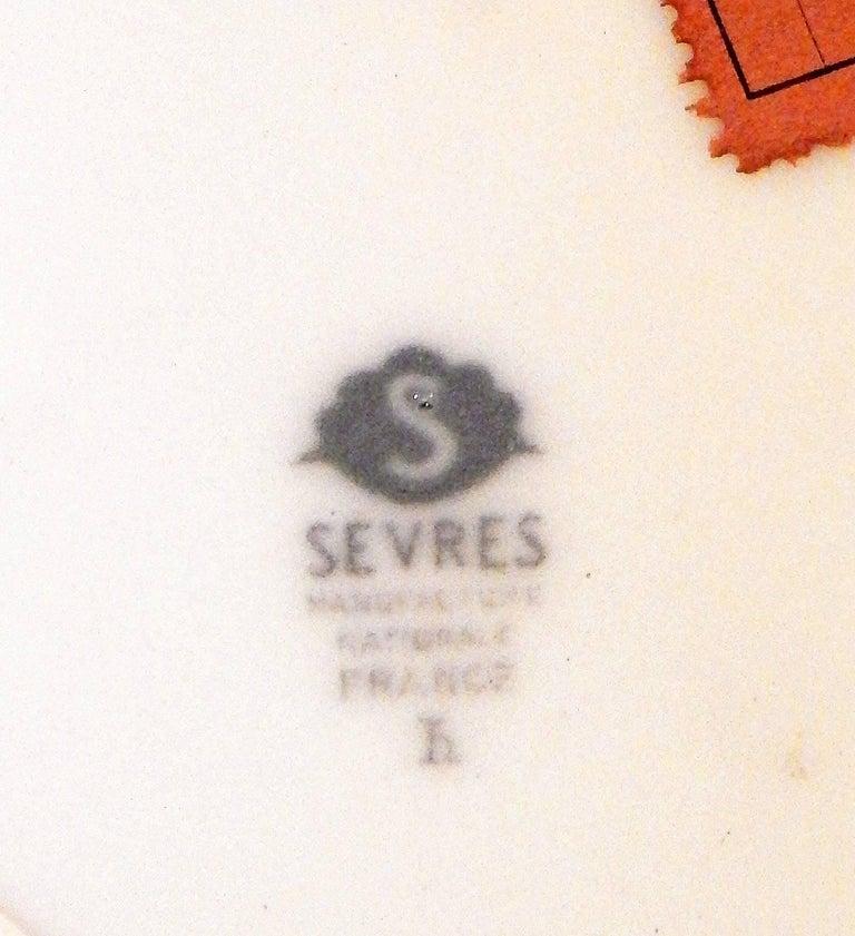 """Breton Fishing Village,"" Masterpiece Art Deco Vase by Leduc for Sevres, 1934 For Sale 1"