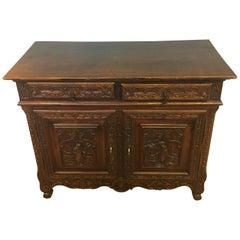 Breton Oak Side Cabinet