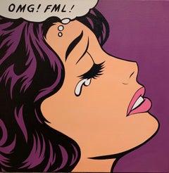 OMG FML Purple