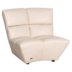 Bretz Cloud 7 Leather Armchair Cream