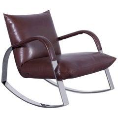 Bretz Highland Armchair Brown One-Seat