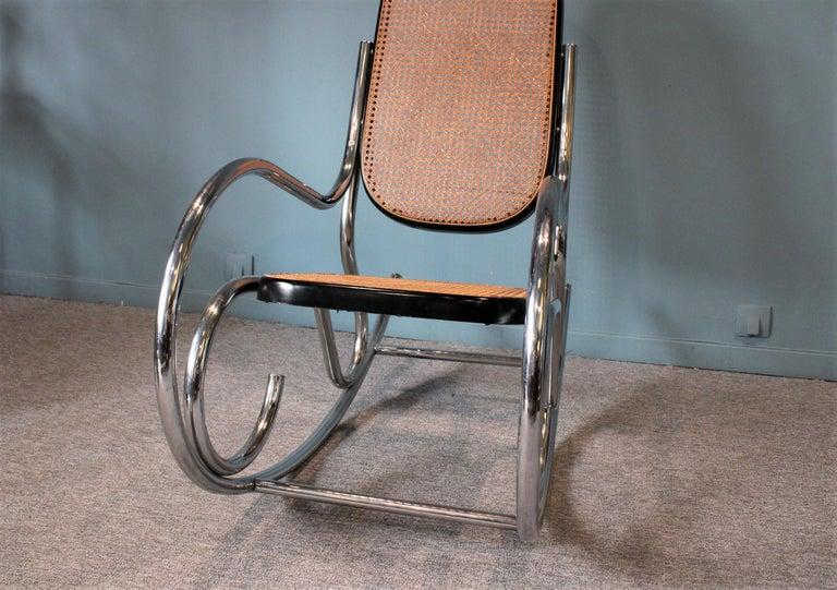 20th Century Breuer Rocking-Chair For Sale