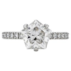 Brevard Customizable Star Engagement Ring
