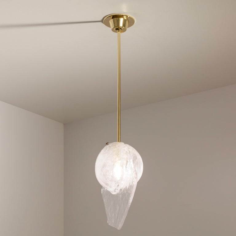 Italian Brezza Pendant Light by form A For Sale