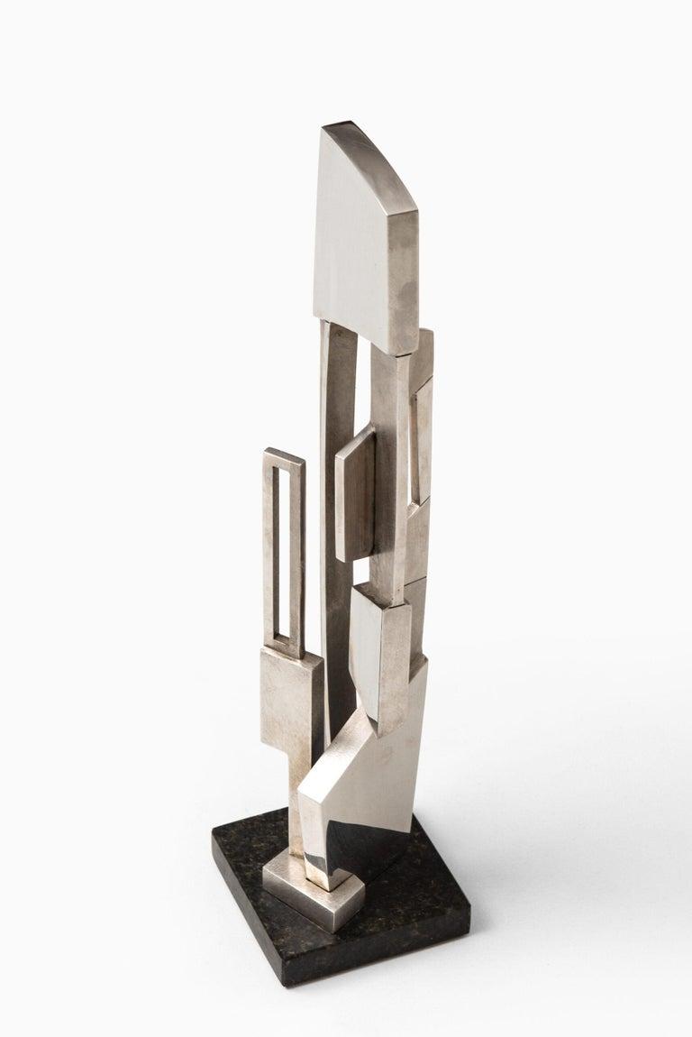 Granite Børge Jørgensen Sculpture Produced in Denmark For Sale