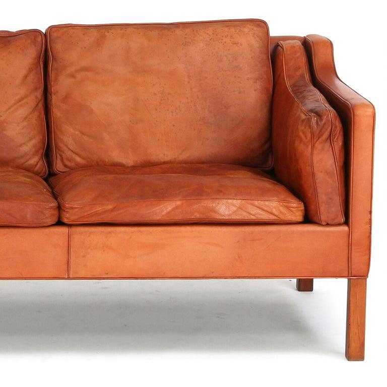 Leather Børge Mogensen, 2213,
