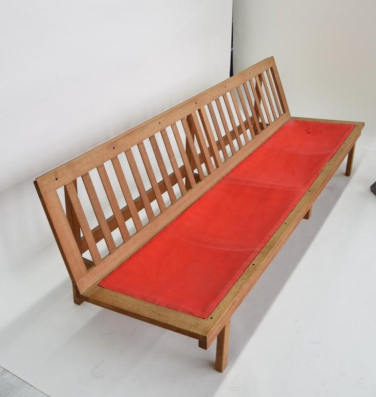 Børge Mogensen 4-Persons, Sofa, Modell BM 2219, Couchbank BM2219, Midcentury For Sale 4