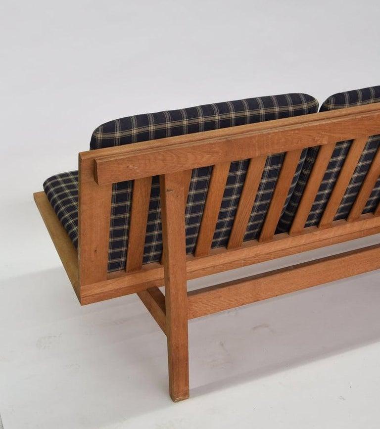 Mid-Century Modern Børge Mogensen 4-Persons, Sofa, Modell BM 2219, Couchbank BM2219, Midcentury For Sale