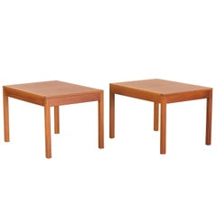 "Børge Mogensen, a Pair of ""5361"" Side Tables, 20th Century"