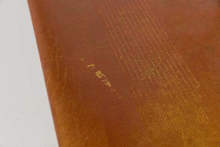 Børge Mogensen Bench Model 3171 for Fredericia Møbelfabrik Seat Leather For Sale 1