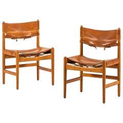 Børge Mogensen Chairs Produced by Svensk Fur in Sweden
