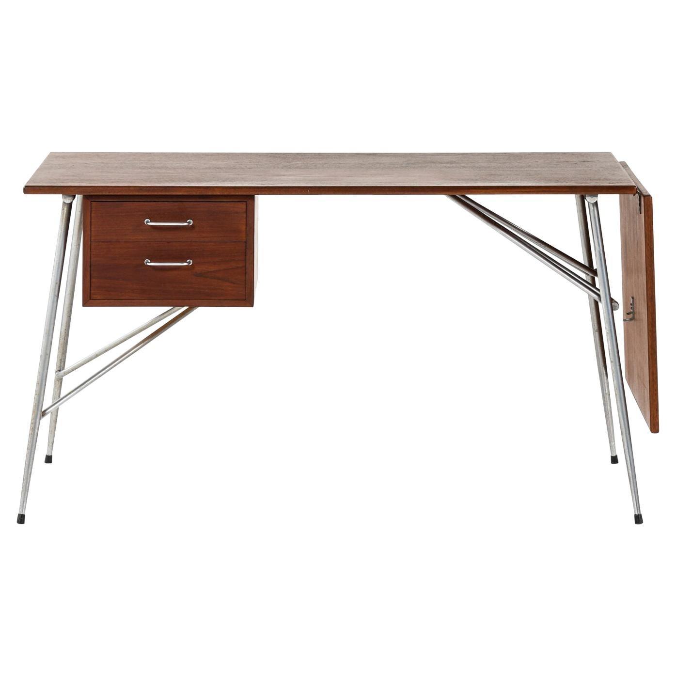 Børge Mogensen Desk Produced by Søborg Møbler in Denmark