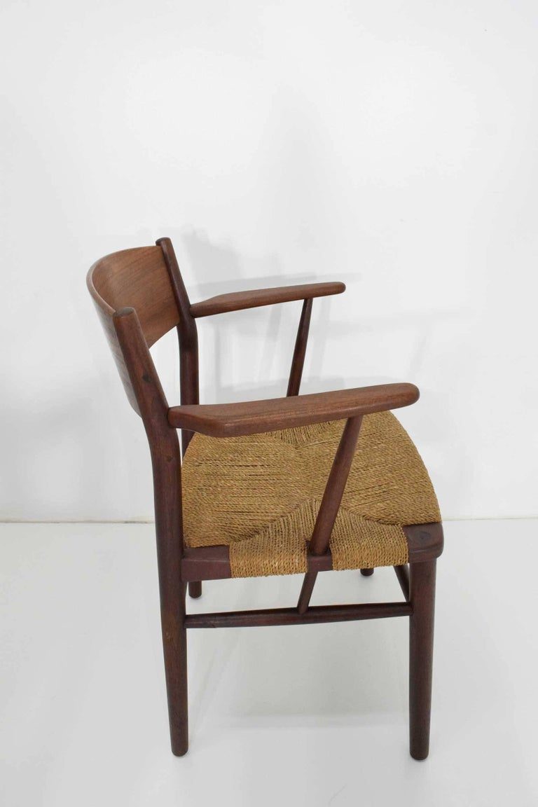 Børge Mogensen Dining Chairs by Søborg Møbelfabrik in Denmark For Sale 1