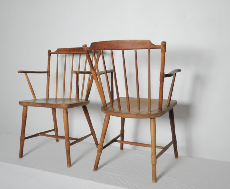 Børge Mogensen Dining Chairs for FDB Møbler 1940s, Set of 8 For Sale 6