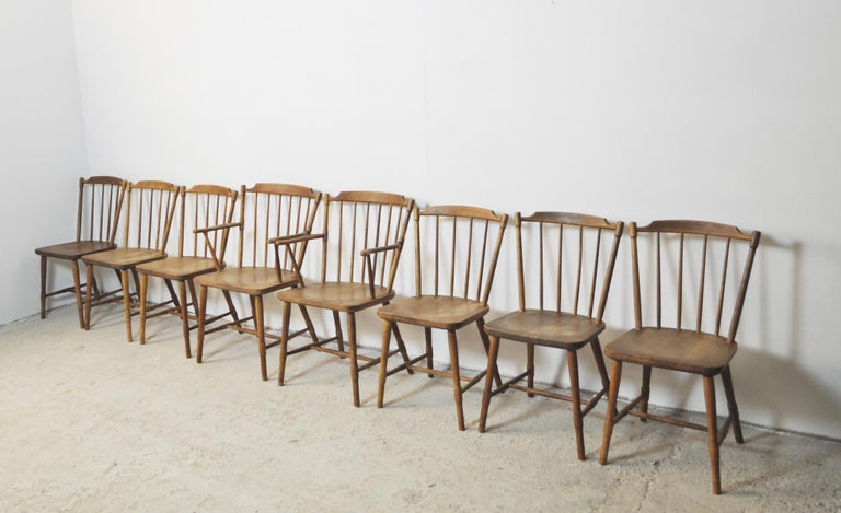 Børge Mogensen Dining Chairs for FDB Møbler 1940s, Set of 8 For Sale 7