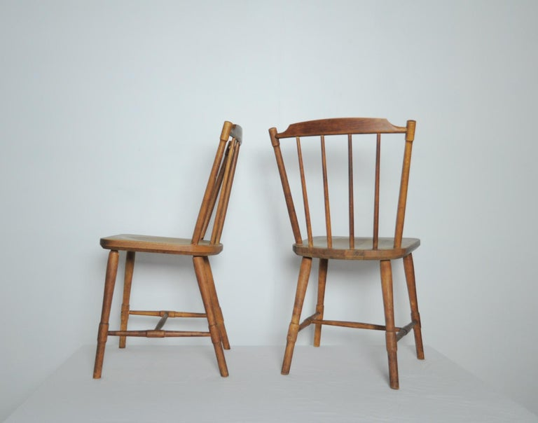 Børge Mogensen Dining Chairs for FDB Møbler 1940s, Set of 8 For Sale 1
