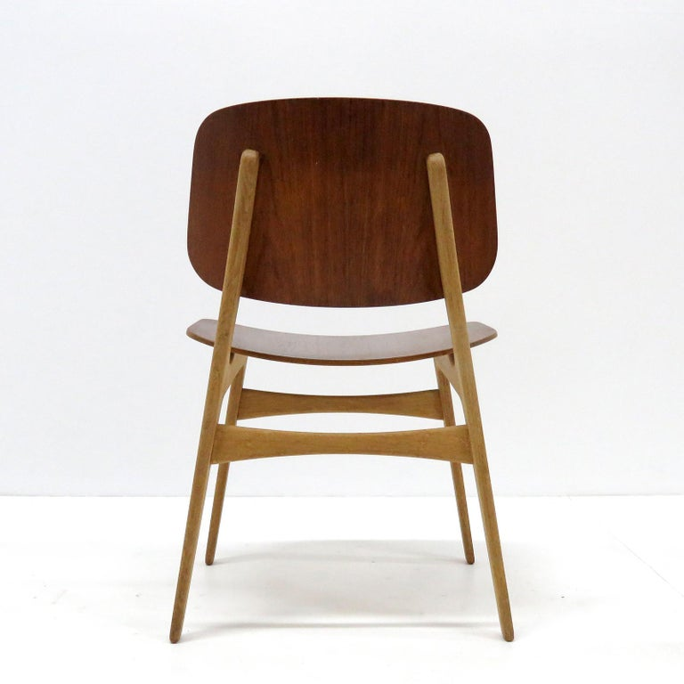 Mid-20th Century Børge Mogensen Dining Chairs, Model 122, 1950 For Sale