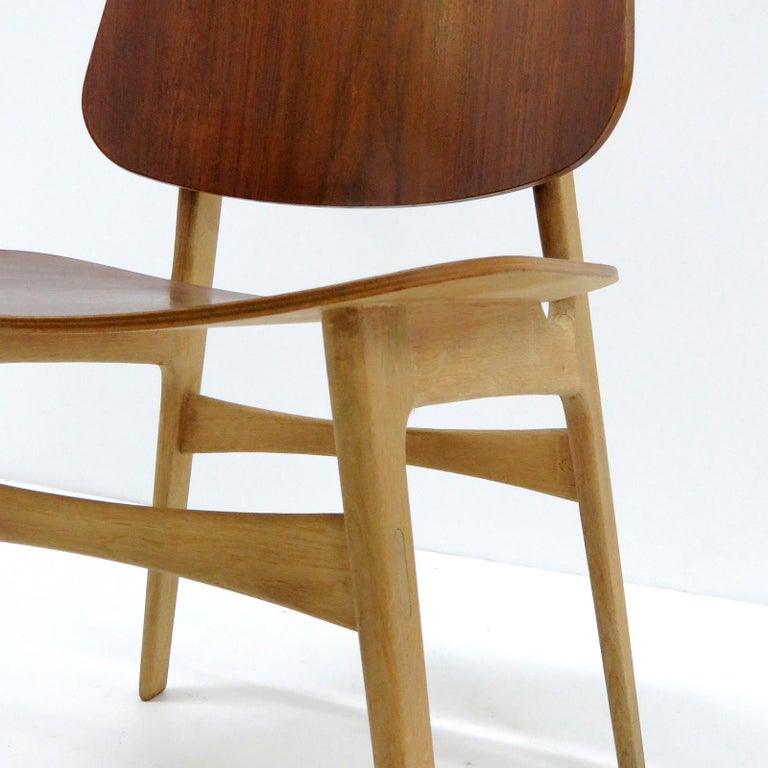 Børge Mogensen Dining Chairs, Model 122, 1950 For Sale 1