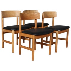 Børge Mogensen Dining Chairs, Model 3236