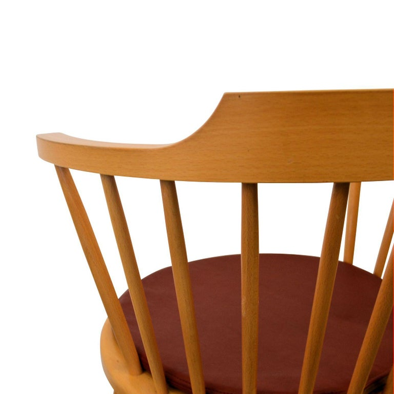 Mid-20th Century Børge Mogensen Dining Chairs, Model 3249, Set of Six For Sale