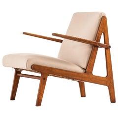 Børge Mogensen Easy Chair Produced by Tage Kristensen & Co in Denmark