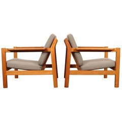 Børge Mogensen Easy Chairs Model 227