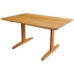 Børge Mogensen for C.M. Madsen, Oak Extending Table