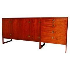 Børge Mogensen for P. Lauritsen & Son Sideboard Cabinets, 1950s Denmark, Signed