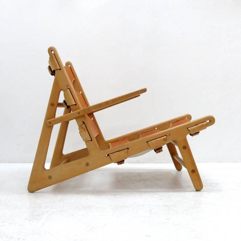 Scandinavian Modern Børge Mogensen 'Hunting' Chair, Model 2229